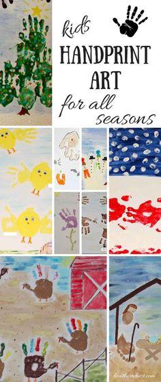Spirit Fingers (Kids Handprint Art Ideas)