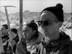 Orla Perć in rhe snow/1953 [video] (Repozytorium Cyfrowe Filmoteki Narodowej) #snow #orlaperc #Poland #montain