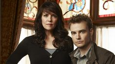 Posted by SF Series and Movies  #Sanctuary- Dr Helen Magnus and Will Zimmerman