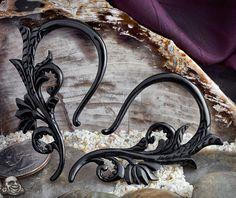 black horn Xochitl earings