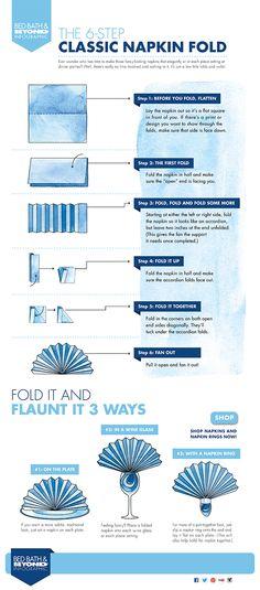 classic napkin fold