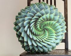 Succulent pillow made to order by Plantillo on Etsy