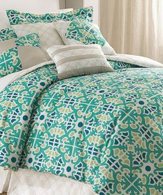 Look at this #zulilyfind! Natasha Embellished Comforter Set by Colonial Home Textiles #zulilyfinds