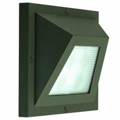 The energy efficient Edge LED Wall Sconce from CSL Lighting features a Linear Prismatic Glass diffuser, 4 X 1W LED array (3000K)