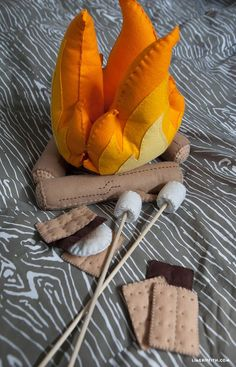 Adorable!  Would be great for a pretend play camping activity