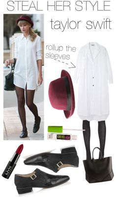 """""""Steal Her Style! Taylor Swift ed."""" by caelinnxx on Polyvore"""