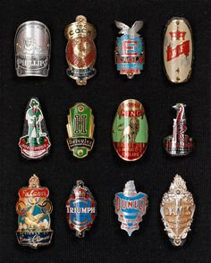 Bicycle Badges 2 (England), via Flickr.