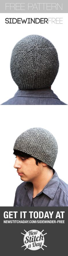 Awesome, Easy, Free hat pattern from newstitchaday.com! Great quick gift!