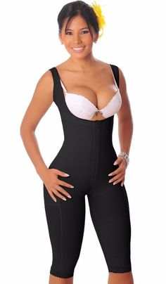 cd0b18d1573 Faja Colombiana Salome 0520 Liposuction GIRDLE POST SURGERY WAIST TRIMMER  NEW  Salome  Bodyshaper Full