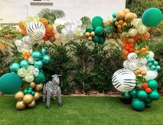 Thank you for letting be apart of sweet Marlow's Birthday! Boys First Birthday Party Ideas, Wild One Birthday Party, 1st Boy Birthday, 2nd Birthday Parties, Safari Birthday Cakes, Jungle Theme Birthday, Safari Theme Party, Safari Party Decorations, Baby Shower Decorations For Boys