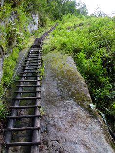 Putucusi Mountain Ladder (Adjacent to Machu Picchu)