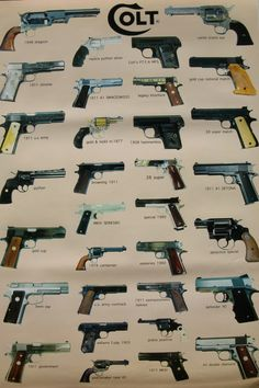 Colt firearms collection I want to go shopping!!!!