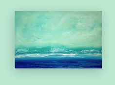 Acrylic Painting Abstract Art on Canvas Titled by OraBirenbaumArt, $295.00