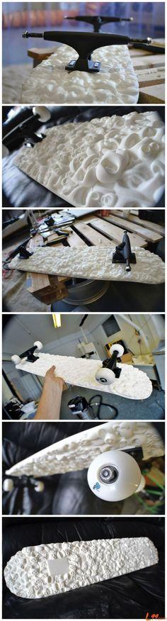 3D Printing skateboard