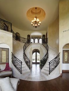 i love a double staircase
