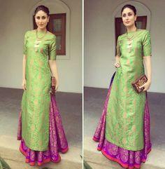 Amazing indian outfit on beautiful kareena kapoor!