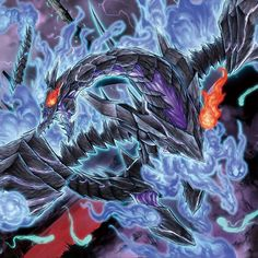 Red-Eyes Zombie Necro Dragon [Artwork] by coccvo on DeviantArt Yugioh Dragon Cards, Yugioh Dragons, Yugioh Monsters, Anime Monsters, Chaos Dragon, Dragon Age, Yu Gi Oh, Monster Design, Monster Art