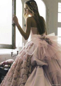 Tendance Robe De Mariée 2017/ 2018 : jill stuart pink wedding dress 2013...