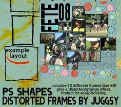 3000+ custom shapes for photoshop