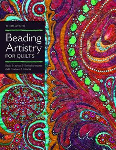 Beading Artistry for Quilts by C Publishing, via Flickr
