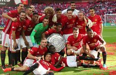 United's team were clearly delighted to get off to the perfect competitive start under new...