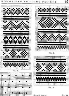 ideas about Norwegian Knitting Fair Isle Knitting Patterns, Fair Isle Pattern, Knitting Charts, Knitting Designs, Knitting Stitches, Knit Patterns, Cross Stitch Borders, Cross Stitch Patterns, Fair Isle Chart