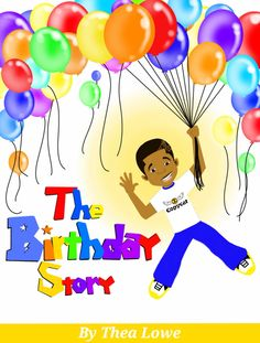 "First draft cover of my new book ""The Birthday Story"""