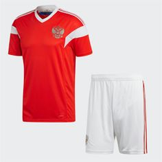 2018 World Cup Kit Russia Home Replica Red Suit 2018 World Cup Kit Russia  Home Replica Red Suit  b4d9247c3