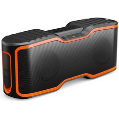 AOMAIS Sport II Portable Wireless Bluetooth Speakers 4.0 with Waterproof IPX7,20W Bass Sound,Stereo Pairing,Durable Design for iPhone /iPod/iPad/Phones/Tablet/Echo dot,Good Gift(Orange) >>> Read more reviews of the product by visiting the link on the image. (This is an affiliate link) #Electronics