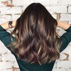 The Most Stunning Brown Hair Colors To Try in 2021 Brown Balayage, Balayage Highlights, Blonde Balayage, Blonde Hair, Brunette Highlights, Brunette Color, Color Highlights, Brunette Hair, Dark Hair