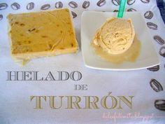 Helado de turrón, receta, ice-cream