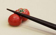 トマト(赤)の箸置き - 箸置き専門ショップ 箸まくら