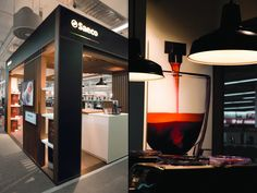 Philips Saeco shop in shop by Mojo, Amsterdam store design