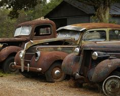 Abandoned cars                                                                                                                                                                                 More