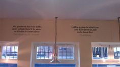 Sports quotes - Pub wall mural