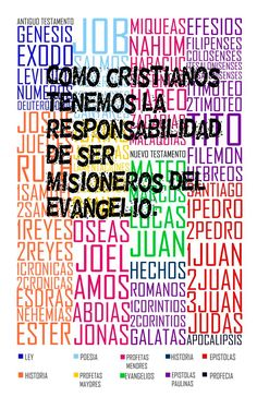 Como cristianos tenemos la responsabilidad de ser misioneros del Evangelio.