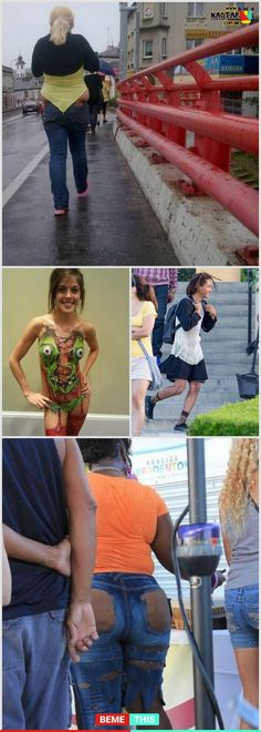 10+ People Wearing Incredibly Weird and Hilarious Clothes #funnypictures #terriblefashion #weirddresses #clothingdisasters