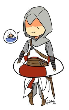 [AC1] Altaïr's swimming problems
