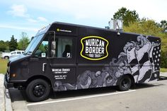 Murican border - food truck vehicle wrap and branding on wacom gallery Food Trucks, Healthy Recipe Videos, Easy Healthy Recipes, Recipe For Teens, Food Truck Design, Van Wrap, Healthy Pastas, Packing Tips For Travel, Fruit Smoothies