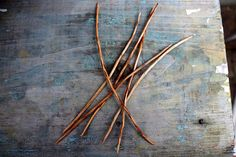 Hand Made Knitting Needles Wild Cherry wood sox by ShadyWoods