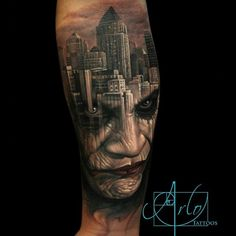 #JOKER #GOTHAMCITY By @arlotattoos #JOKERTATTOO #LATININKMAGAZINE #LatinINKapp #urbanink #TIDAL #blackink #BREALtv #smsaudio #weTheBestMusic #ThePeople #XMradio #SHADE45 #POWER105 #Hot97 #djenuff #djcamilo #POWERTV #ShakeTheBlock #revolttv #litdigitaldjs #funkflex #VIDEOMUSICBOX #heavyhitters #rocnation #OVNIO FOLLOW @thesocialmediaking #OVNIOtv #LatinINKtv @ovnio.tv @latininkmvmt @ceo_latinink @vp_latinink
