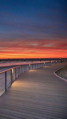 Sunset Wallpaper, Landscape Wallpaper, Scenery Wallpaper, Nature Wallpaper, Most Beautiful Beaches, Beautiful Sunset, Beautiful Places, Hotel Am Strand, Foto Nature