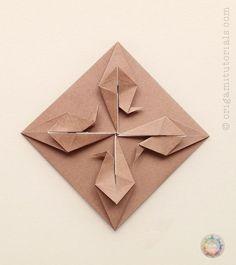 Origami Crane Tatou (Envelope) | Origami Tutorials