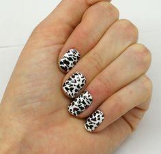 Cheetah- Pink - Wrap-em Nails www.greatestnailsever.com Wrap-em Nails
