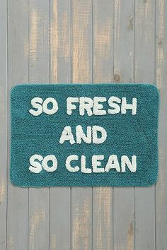 So Fresh So Clean Bath Mat | Urban Outfitters