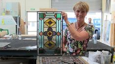 Broken stained glass boom in Christchurch rebuild - NZ Herald Glass Room, Glass Art, Leadlight Windows, Outdoor Water Features, Glass Stairs, Anglican Church, Wooden Buildings, Glass Company, Victoria And Albert Museum