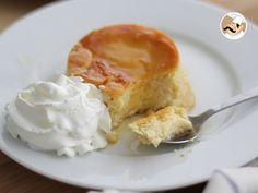 Recette Dessert : Flan fondant au mascarpone et caramel par Ptitchef_officiel