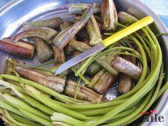 Patlıcan turşusu - Sibel Berkem Muhtar Asparagus, Green Beans, Vegetables, Food, Studs, Essen, Vegetable Recipes, Meals, Yemek