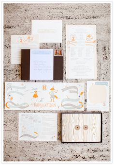 fairytale themed wedding invites