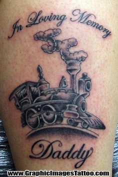 train tattoos | TattooIzzy38